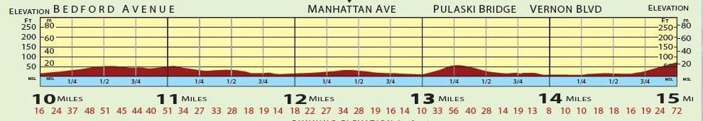 NYC Marathon Course Elevation | Joe Runs For Dom