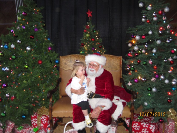 Landry & Santa - Lights of Love 2012