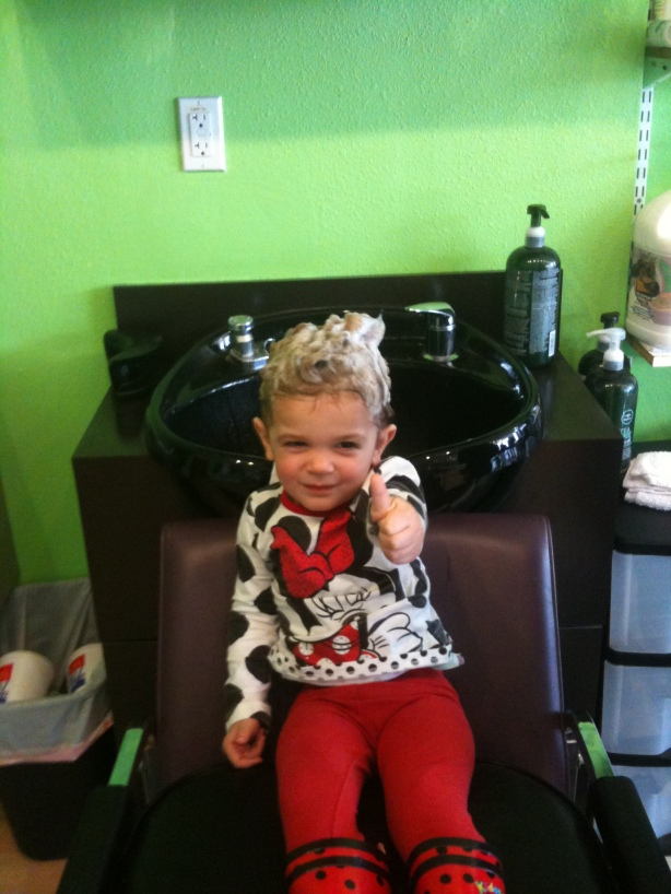 Landry's 2nd Haircut