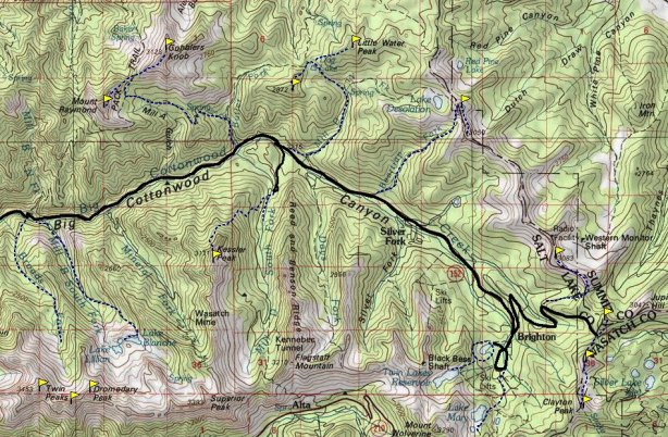 big_cottonwood_canyon_map