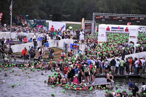 Ironman Texas Swim - Staging